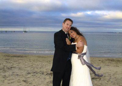 Best Shot Video photo of couple on Monterey Beach, Monterey, California
