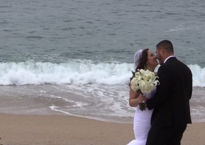 Wedding at Monastery Beach, Carmel, CA