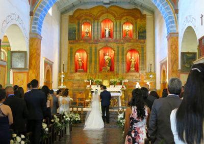 San Juan Bautista Mission Wedding Project