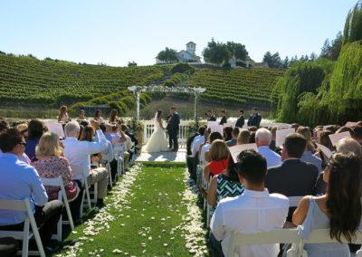 Wedding at Léal Estate Vineyards, Hollister, California